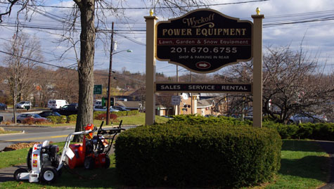 Wyckoff Power Front Entrance Sign
